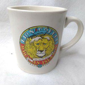 Lion Coffee Hawaiian Islands Mug Hawaii Restaurant
